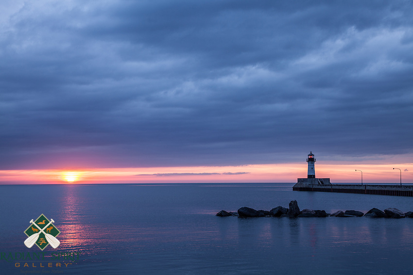 &quot;Canal Park Sunrise&quot;<br />