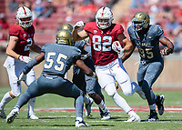 Stanford, Ca. - The Stanford Cardinal Football team vs the UC Davis Aggies in Stanford Stadium. The final score Stanford 30, UC Davis 10.