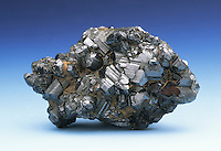 Rutile is a mineral composed mostly of titantium dioxide. It is a primary ore of titanium. Magnet Cove, AK