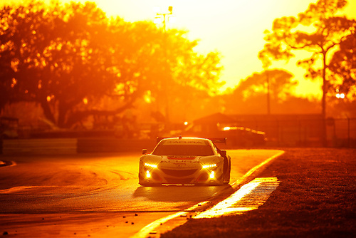 2017 IMSA WeatherTech SportsCar Championship<br /> Mobil 1 Twelve Hours of Sebring<br /> Sebring International Raceway, Sebring, FL USA<br /> Saturday 18 March 2017<br /> 93, Acura, Acura NSX, GTD, Andy Lally, Katherine Legge, Mark Wilkins<br /> World Copyright: Michael L. Levitt/LAT Images<br /> ref: Digital Image levitt_seb_0317-29657