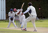 CS Challenge Cup Final, at Uddingston CC - Irvine CC batsman Inderjit Singh hits out for a well made 38 to lead his side to a win - picture by Donald MacLeod - 13.08.2017 - 07702 319 738 - clanmacleod@btinternet.com - www.donald-macleod.com
