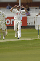 London, GREAT BRITAIN,  Andrew CROOK, during the first session  the Liverpool Victoria Div 2 County championship match between  Middlesex vs Northamptonshire, at Lords Cricket ground, England on Wed 25.04.2007  [Photo, Peter Spurrier/Intersport-images].....