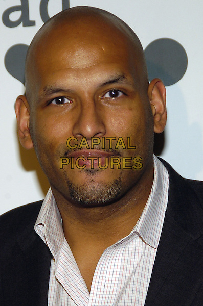 JOHN AMAECHI .Attending the GLAAD Media Awards (Gay and Lesbian Alliance Against Defamation) New York at the Mariott Marquis Hotel, New York City, NY, USA.March 26th, 2007.headshot portrait goatee facial hair  .CAP/ADM/BL.©Bill Lyons/AdMedia/Capital Pictures *** Local Caption ***