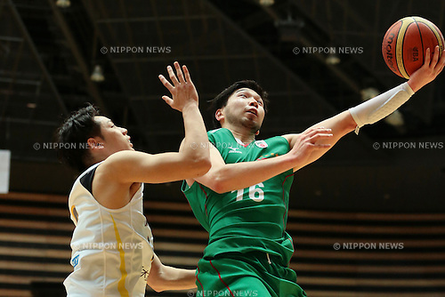 Keijuro Matsui (Toyota Alvark Tokyo), <br /> MAY 3, 2014 - Basketball : <br /> National Basketball League &quot;NBL&quot; 2013-2014 match <br /> between Toyota Alvark Tokyo 105-86 Link Tochigi Brex <br /> at Ota-City General Gymnasium, Tokyo, Japan. <br /> (Photo by AFLO SPORT) [1205]