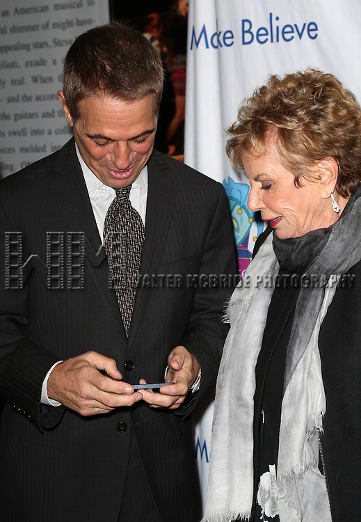 Tony Danza and Dena Hammerstein attends the 14th Annual 'Only Make Believe' Gala at the Bernard B. Jacobs Theatre on November 4, 2013  in New York City.