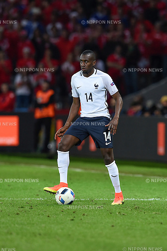 Blaise Matuidi (France) ; <br /> June 19, 2016 - Football : Uefa Euro France 2016, Group A, Switzerland 0-0 France at Stade Pierre Mauroy, Lille Metropole, France. (Photo by aicfoto/AFLO)