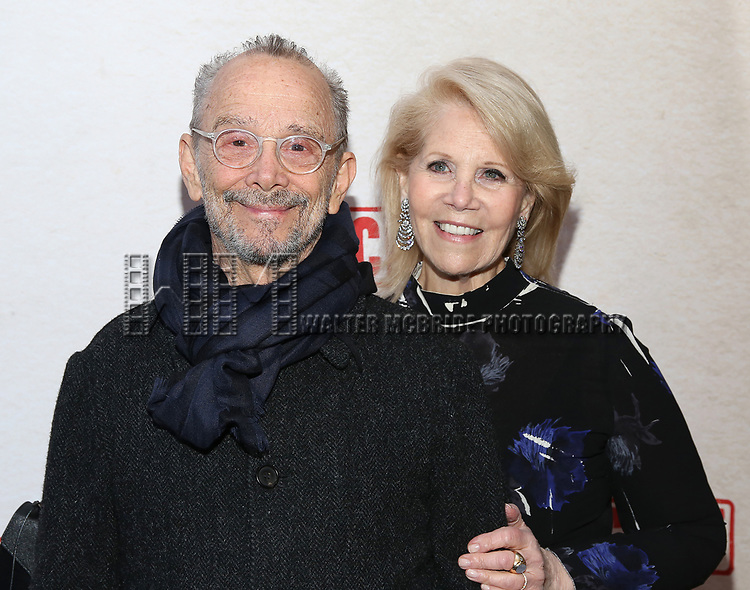 Joel Grey and Daryl Roth attends the Broadway Opening Night Performance of  'Indecent' at The Cort Theatre on April 18, 2017 in New York City.