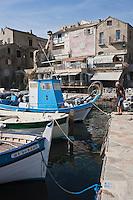 Europe/France/Corse/2B/Haute-Corse/Cap Corse/Erbalunga: Le port de pêche