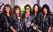 Oct 15, 1988: QUEENSRYCHE - Photosession in Helsinki Finland