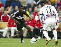 3 April 2004: Freddy Adu in action against Earthquakes at RFK Stadium in Washington D.C..  Credit: Michael Pimentel / ISI