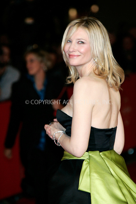 "Cate Blanchett at the premiere of ""Elizabeth: The Golden Age"" held at the Auditorium Parco De La Musica during the 2nd Rome International Film Festival in Italy - 19 October 2007..FAMOUS .PICTURES AND FEATURES AGENCY .13 HARWOOD ROAD LONDON SW6 4QP .UNITED KINGDOM .tel +44 (0) 20 7731 9333 .fax +44 (0) 20 7731 9330 .e-mail info@famous.uk.com .www.famous.uk.com .FAM21669"