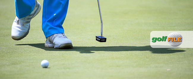 Close-up of Stubby Putter of Jaco Van Zyl (RSA) during Round Three of the 2016 BMW SA Open hosted by City of Ekurhuleni, played at the Glendower Golf Club, Gauteng, Johannesburg, South Africa.  09/01/2016. Picture: Golffile | David Lloyd<br /> <br /> All photos usage must carry mandatory copyright credit (&copy; Golffile | David Lloyd)