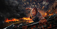 Skyscraper (2018)<br /> Promotional art with Dwayne Johnson<br /> *Filmstill - Editorial Use Only*<br /> CAP/MFS<br /> Image supplied by Capital Pictures