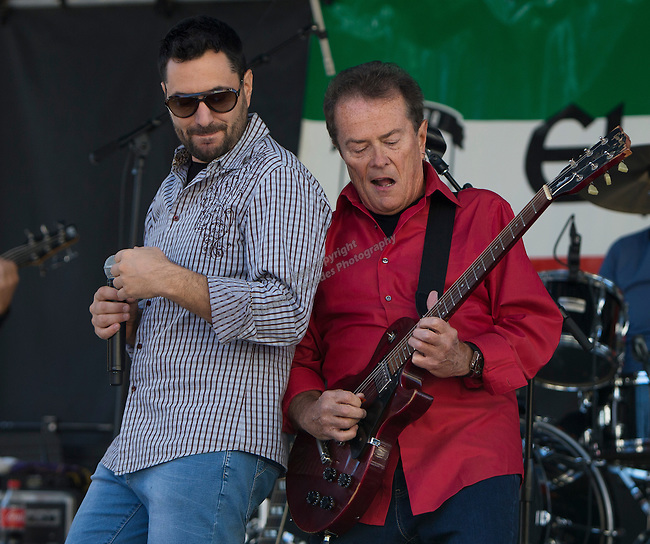 Ray Massa's Eurorhythms perform during the 35th Annual Eldorado Great Italian Festival held in downtown Reno on Saturday, October 8, 2016.