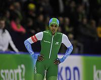 SCHAATSEN: HEERENVEEN: IJsstadion Thialf, 28-12-2015, KPN NK Afstanden, 500m Dames, Anice Das, ©foto Martin de Jong