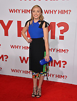 Actress Peyton List at the world premiere of &quot;Why Him?&quot; at the Regency Bruin Theatre, Westwood. December 17, 2016<br /> Picture: Paul Smith/Featureflash/SilverHub 0208 004 5359/ 07711 972644 Editors@silverhubmedia.com