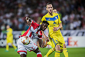 14th September 2017, Red Star Stadium, Belgrade, Serbia; UEFA Europa League Group stage, Red Star Belgrade versus BATE; Forward Richmond Boakye of Red Star Belgrade in action during the match
