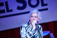 Bill Rieflin performing  at the  Sol  Club in Madrid
