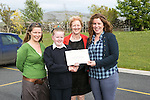 Pictured at the presentation of certificated by EcoEco Beo to students from New Quay National school were: Bridget Barry,Burren Beo Trust, Student Keeley McGann,Carmel Thynne, Principal New Quay NS, Aine Bird, Eco Beo Co ordinator . Pictured Credit Brian Gavin Press 22