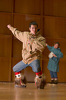 Festival of Native Arts, Imarpigmiut Dancer, Native dance and art celebration in Fairbanks, Alaska