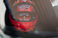 Sep 29, 2019; Madison, IL, USA; NHRA top fuel driver Billy Torrence during the Midwest Nationals at World Wide Technology Raceway. Mandatory Credit: Mark J. Rebilas-USA TODAY Sports