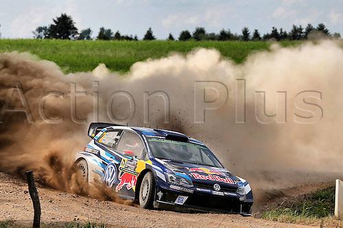 02.07.2016. Mikolajki, Poland. WRC Rally of Poland, stages 12-17.  Jari-Matti Latvala (FIN) and Miikka Anttila (FIN) - Volkswagen Polo R WRC