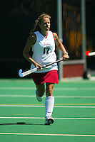 30 August 2005: Chloe Bade during Stanford's 5-1 loss to Delaware at the Varsity Turf Field in Stanford, CA.