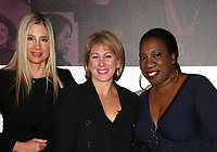 LOS ANGELES, CA - NOVEMBER 2: Mira Sorvino, Sharon Waxman, Tarana Burke, at TheWrap&rsquo;s Power Women&rsquo;s Summit Day2 at the InterContinental Hotel in Los Angeles, California on November 2, 2018. <br /> CAP/MPI/FS<br /> &copy;FS/MPI/Capital Pictures
