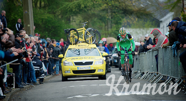 Fleche Wallonne 2012..'combateur' of the day; Dirk Bellemakers