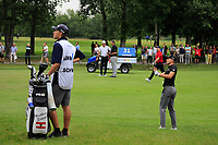 Matthias Schwab (AUT) in action during the first round of the Shot Clock Masters, played at Diamond Country Club, Atzenbrugg, Vienna, Austria. 07/06/2018<br /> Picture: Golffile | Phil Inglis<br /> <br /> All photo usage must carry mandatory copyright credit (&copy; Golffile | Phil Inglis)