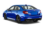 Car pictures of rear three quarter view of 2017 Subaru WRX 2 4 Door Sedan Angular Rear