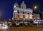 Police outside the Boleyn pub  <br /> <br /> - English Premier League - West Ham Utd vs Tottenham  Hotspur - Upton Park Stadium - London - England - 2nd March 2016 - Pic David Klein/Sportimage
