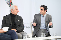 NEW YORK, NY - OCTOBER 22: Joseph Abboud and Zac Posen attend Martha Stewart's American Made Summit on October 22, 2016 in New York City. Credit: Diego Corredor/Media Punch