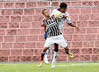 SÃO PAULO, SP, 15 JANEIRO 2011 - COPA SAO PAULO DE FUTEBOL JUNIOR 2012 - <br /> Lance da partida entre as equipes do Bahia x Fluminense RJ realizada no Estádio Nycolau (SP),  Copa São Paulo de Futebol Junior 2012, neste domingo (15). (FOTO: ALE VIANNA - NEWS FREE).