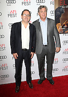 "Hollywood, CA - NOVEMBER 13: Michael Barker, Tom Bernard, At AFI FEST 2016 Presented By Audi - A Tribute To Isabelle Huppert And Gala Screening Of ""Elle"" At The Egyptian Theatre, California on November 13, 2016. Credit: Faye Sadou/MediaPunch"