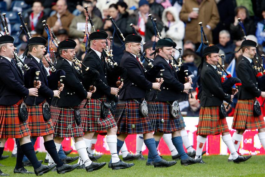 Photo: Richard Lane/Richard Lane Photography. .Scotland v England. RBS Six Nations. 08/03/2008. .