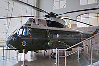 Marine One Helicopter, Reagan Presidential Library  exhibit  Simi Valley California