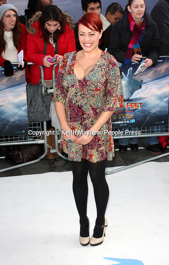 London - European Premiere of 'Happy Feet Two' at the Empire Leicester Square, London - November 20th 2011..Photo by Keith Mayhew