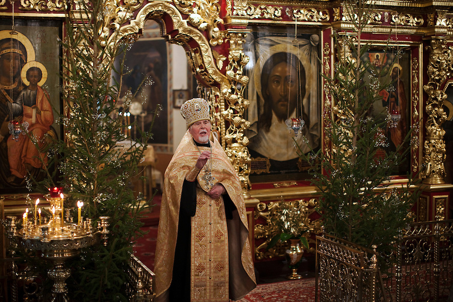 Russian Orthodox Christmas 2011 | The Jeremy Nicholl Archive