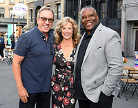 BEVERLY HILLS - AUGUST 7: Tim Allen, Nancy Travis and Jonathan Adams attend the FOX 2019 Summer TCA All-Star Party on New York Street on the FOX Studios lot on August 7, 2019 in Los Angeles, California. (Photo by Vince Bucci/FOX/PictureGroup)