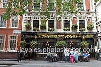 The Sherlock Holmes. One of London's oldest pubs. <br /> <br /> <br /> Photo credit: Jeff Thomas - Jeff Thomas Photography - 07837 386244/07837 216676 - www.jaypics.photoshelter.com - thomastwotimes@live.co.uk
