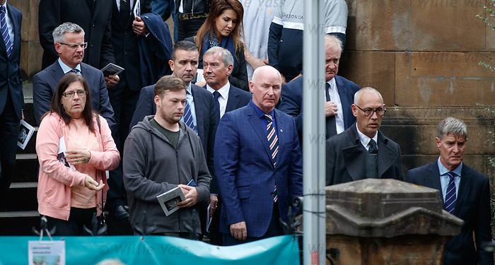 25.09.2018 Funeral service for Fernando Ricksen: Rangers MD Stewart Robertson