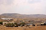 Israel, Southern Hebron Mountain, a Bedouin settlement near Yatir forest