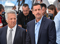 Dustin Hoffman &amp; Adam Sandler at the photocall for &quot;The Meyerowitz Stories&quot; at the 70th Festival de Cannes, Cannes, France. 21 May 2017<br /> Picture: Paul Smith/Featureflash/SilverHub 0208 004 5359 sales@silverhubmedia.com