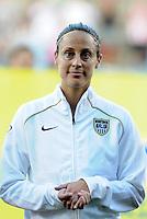 Kate Markgraf...USWNT tied Sweden 1-1 at Morrison Stadium, Omaha Nebraska.