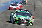 Kyle Busch, Joe Gibbs Racing, Toyota Camry Interstate Batteries and Martin Truex Jr., Furniture Row Racing, Toyota Camry Bass Pro Shops/5-hour ENERGY
