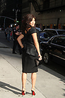 May 17, 2012: Julie Chen at Late Show with David Letterman to talk about Conan talk show in New York City. Credit: RW/MediaPunch Inc.