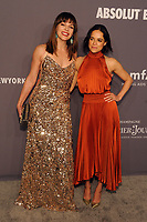 NEW YORK, NY - FEBRUARY 6: Milla Jovovich and Michelle Rodriguez arriving at the 21st annual amfAR Gala New York benefit for AIDS research during New York Fashion Week at Cipriani Wall Street in New York City on February 6, 2019. <br /> CAP/MPI/JP<br /> &copy;JP/MPI/Capital Pictures