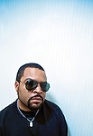"Rapper and actor Ice Cube poses for a photograph in Philadelphia for a promotion of his movie ""Lottery Ticket""."