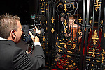 The Chronicle's Shelby Hodge reports from behind the gates at the Houston Grand Opera Ball at the Wortham Theater Saturday  April 05,2008. (Dave Rossman/For the Chronicle)